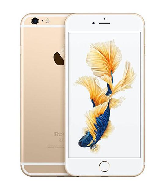 【中古】【安心保証】 SIMフリー iPhone6sPlus[32G] ゴールド
