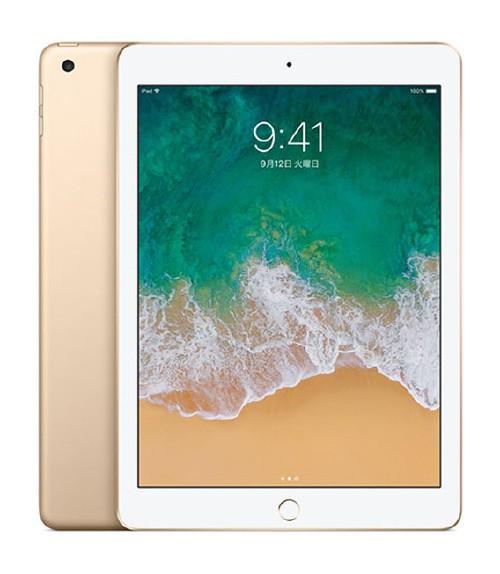 【中古】【安心保証】 iPad-9.7_5[WiFi128G] ゴールド