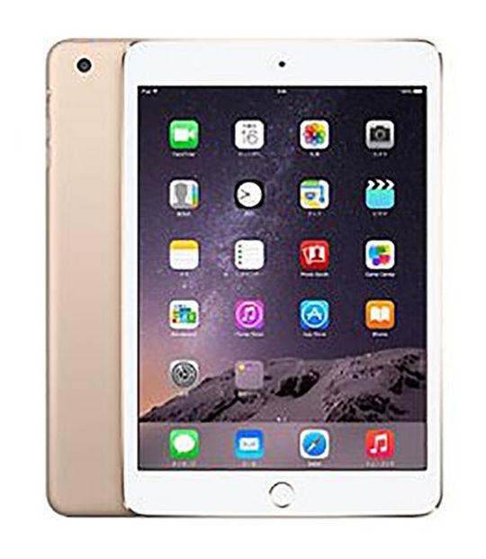 【中古】【安心保証】 iPadmini3[128G] ゴールド