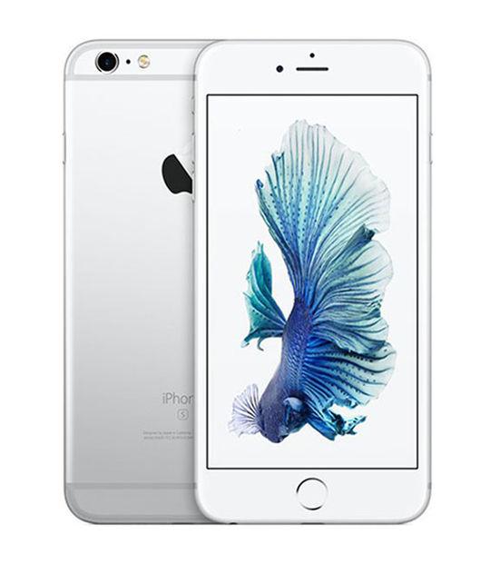 【中古】【安心保証】 au iPhone6sPlus[32G] シルバー