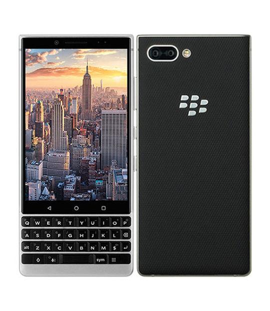 【中古】【安心保証】 SIMフリー BlackBerry KEY2 Silver[64GB] シルバー