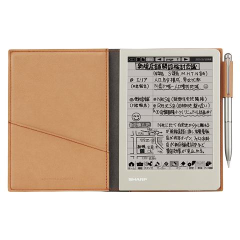 【新品】シャープ 電子ノート WG−S30−T/シャープ