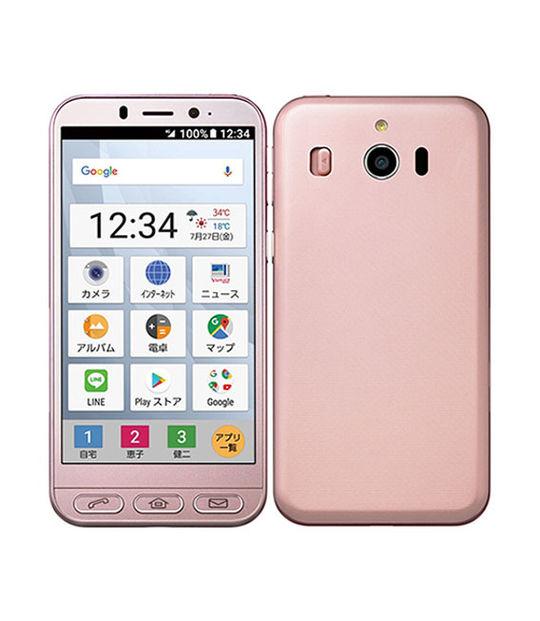 【中古】【安心保証】 SoftBank 704SH ピンク