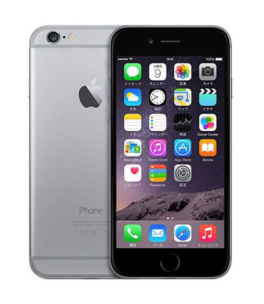 iPhone6 32GB(スペースグレイ)