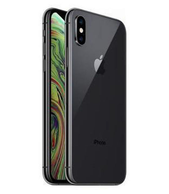 【中古】【安心保証】 au iPhoneXS[64G] スペースグレイ