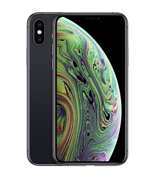 【中古】【安心保証】 au iPhoneXS[64G] スペースグレイ SIMロック解除済