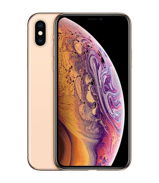 【中古】【安心保証】 SoftBank iPhoneXS[512G] ゴールド SIMロック解除済