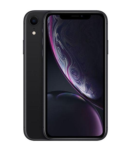 【中古】【安心保証】 au iPhoneXR[64G] ブラック SIMロック解除済
