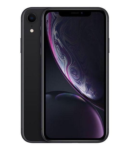 【中古】【安心保証】 au iPhoneXR[128G] ブラック