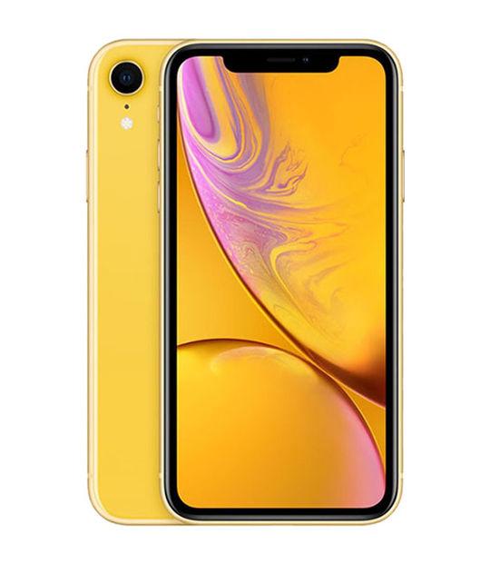 【中古】【安心保証】 docomo iPhoneXR[64G] イエロー SIMロック解除済