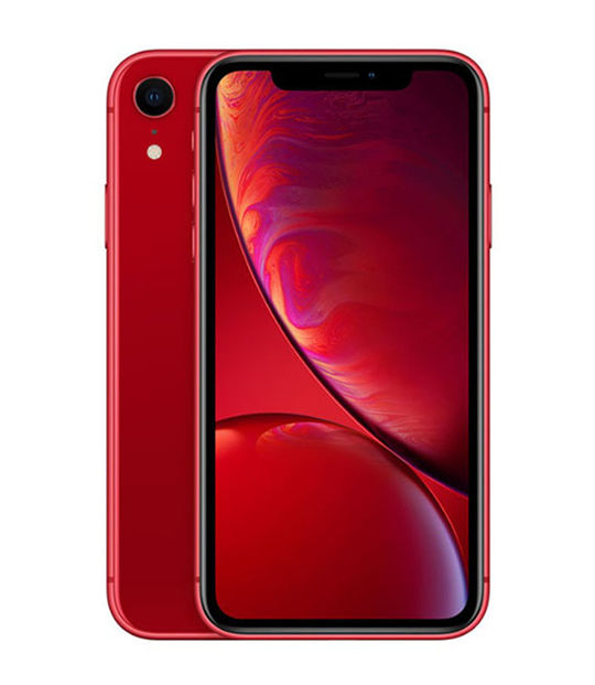 【中古】【安心保証】 SoftBank iPhoneXR[256G] レッド