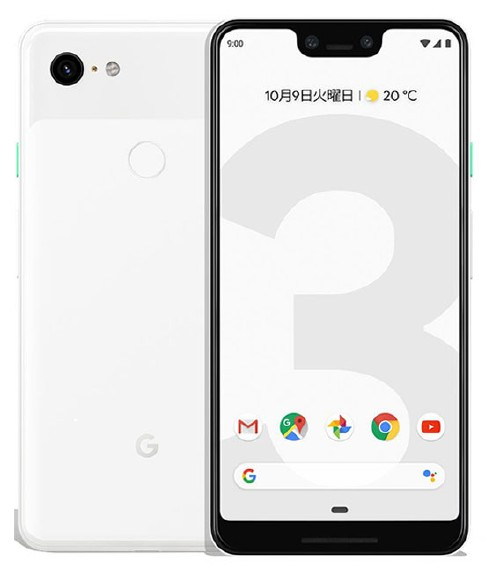 【中古】【安心保証】 docomo Pixel 3XL[128G] クリアリーホワイト