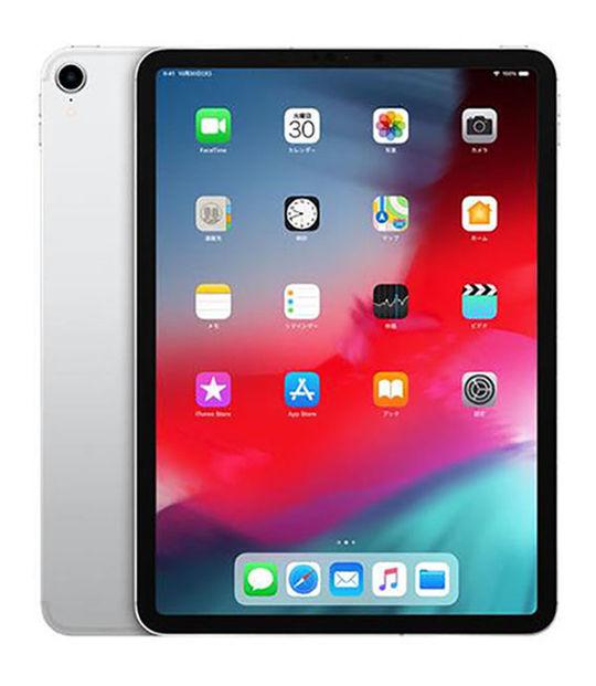 【中古】【安心保証】 SoftBank iPadPro 3ー11[セルラー256G] シルバー