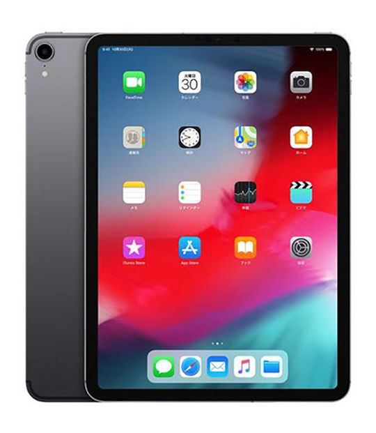 【中古】【安心保証】 SoftBank iPadPro 3ー11[セルラー64G] グレイ