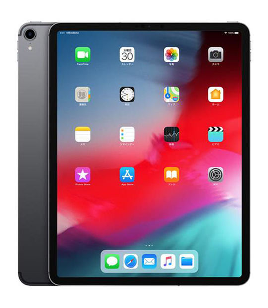 【中古】【安心保証】 docomo iPadPro 3ー12.9[セルラー256G] グレイ