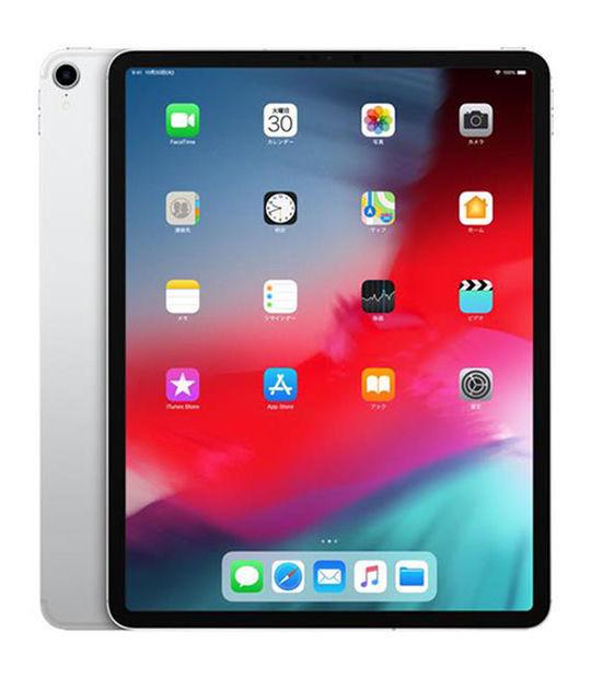 【中古】【安心保証】 au iPadPro 3ー12.9[セルラー512G] シルバー