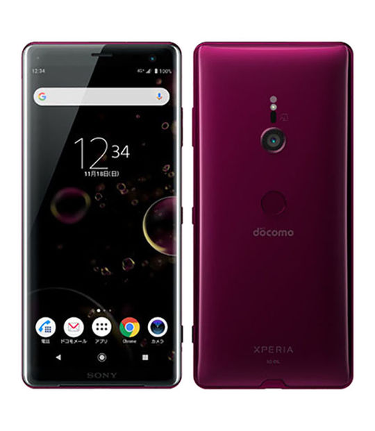 XperiaXZ3 SO-01L(ボルドーレッド)