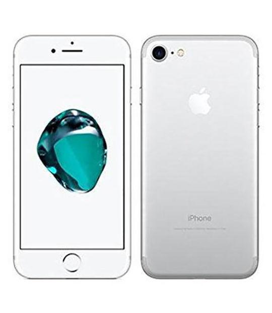 【中古】【安心保証】 UQモバイル iPhone7[32G] シルバー