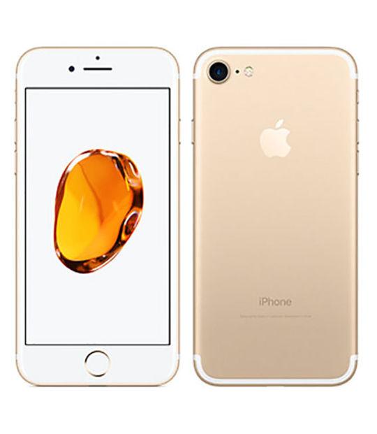 【中古】【安心保証】 UQモバイル iPhone7[32G] ゴールド
