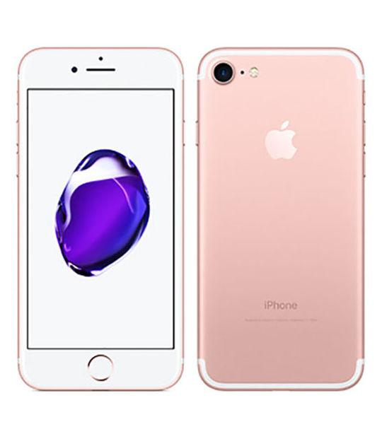 【中古】【安心保証】 UQモバイル iPhone7[32G] ローズゴールド