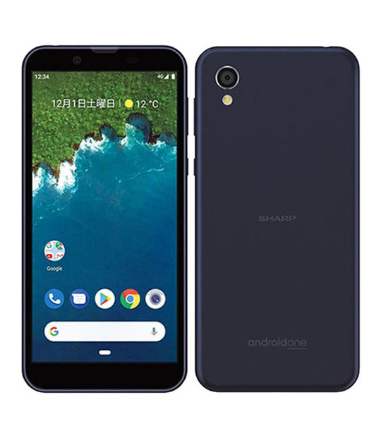 Android One S5(ダークブルー)
