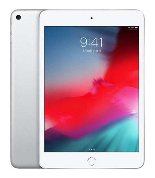 【中古】【安心保証】 7.9iPadmini5[WiFi64G] シルバー