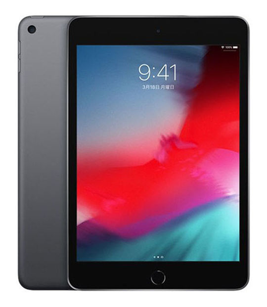 【中古】【安心保証】 7.9iPadmini5[WiFi64G] グレイ