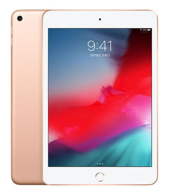 【中古】【安心保証】 7.9iPadmini5[WiFi64G] ゴールド