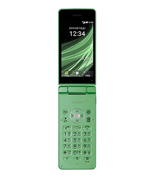 AQUOS ケータイ3 805SH(グリーン)
