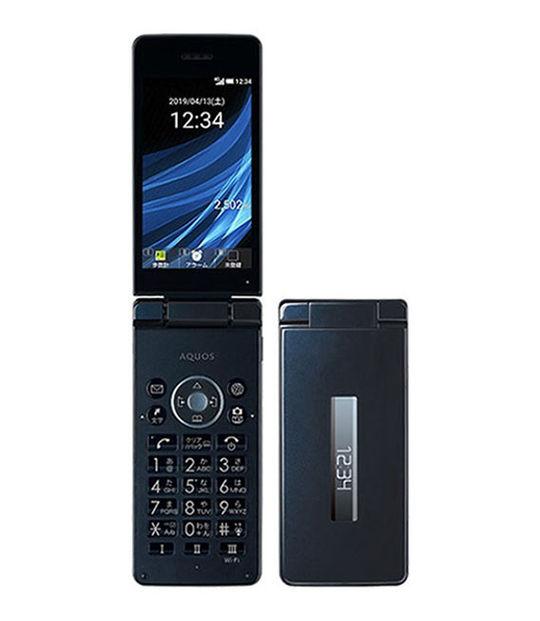 【中古】【安心保証】 Y!mobile 806SH ブラック