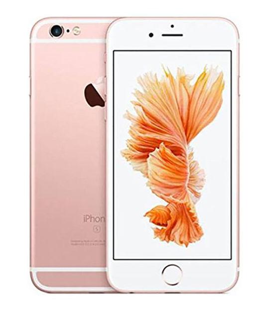 【中古】【安心保証】 UQモバイル iPhone6s[32G] ローズゴールド SIMロック解除済