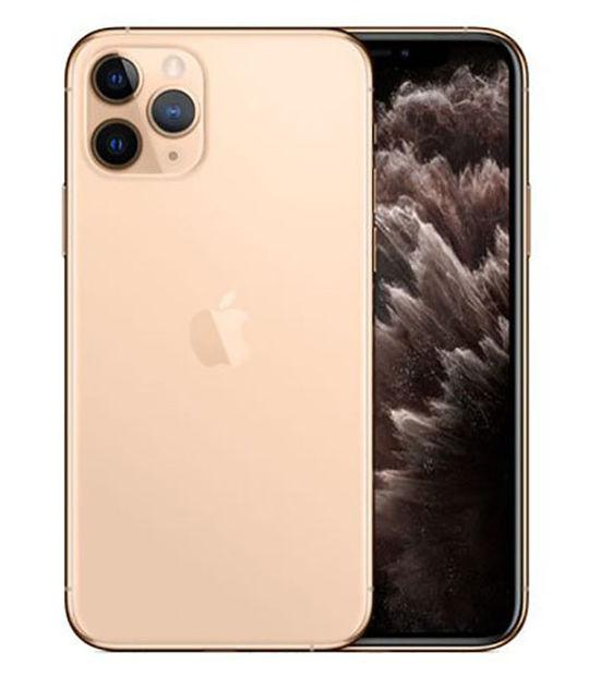 【中古】【安心保証】 au iPhone11 Pro[64G] ゴールド