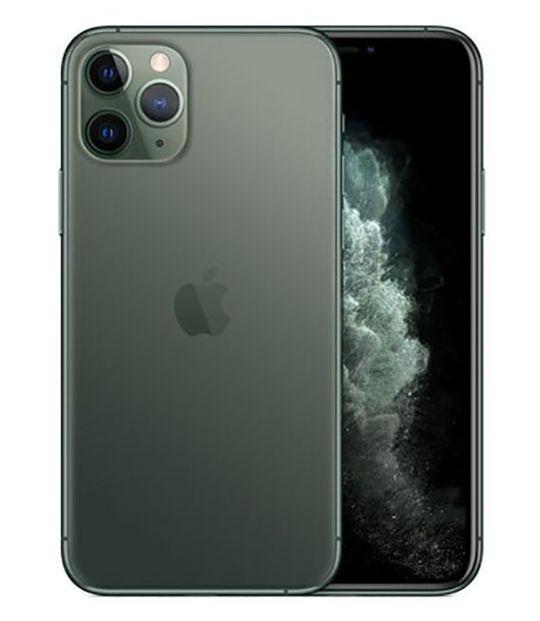 【中古】【安心保証】 au iPhone11 Pro[256G] グリーン