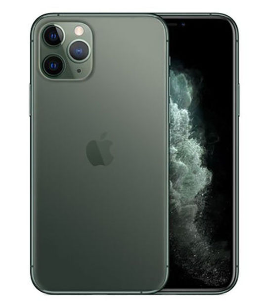 【中古】【安心保証】 SIMフリー iPhone11 Pro[512G] グリーン