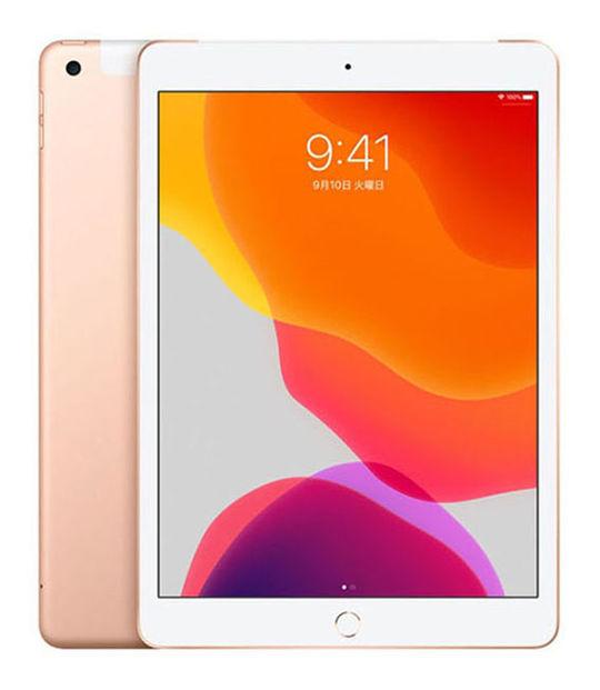 【中古】【安心保証】 10.2iPad 7[WiFi32G] ゴールド