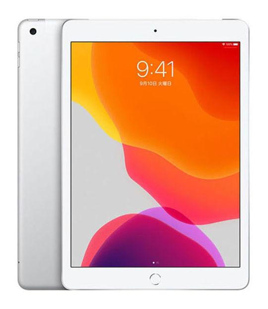 【中古】【安心保証】 10.2iPad 7[WiFi32G] シルバー