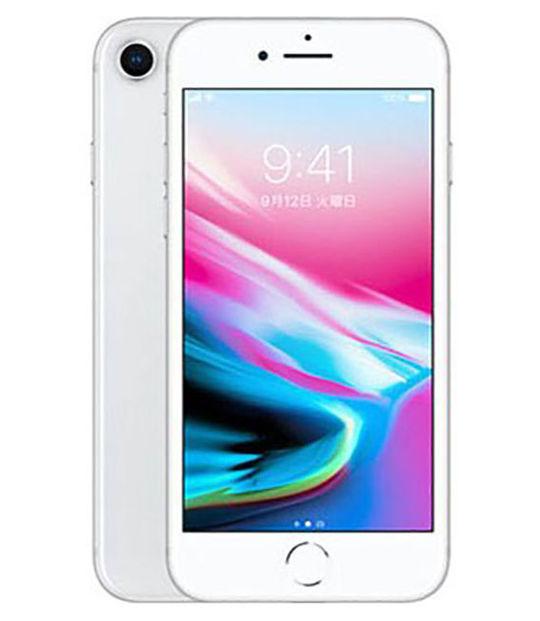 【中古】【安心保証】 SIMフリー iPhone8[128G] シルバー