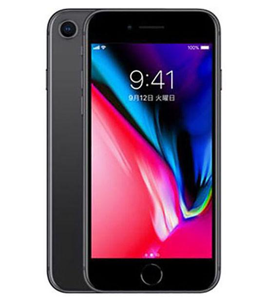 iPhone8 128GB(スペースグレイ)