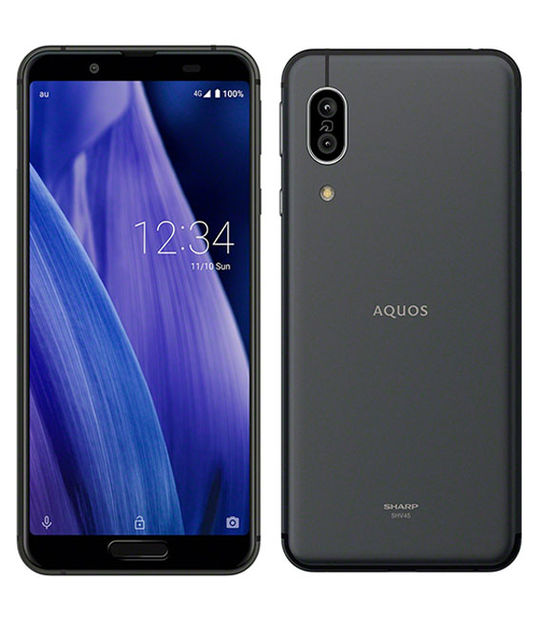 AQUOS sense3 SHV45(ブラック)