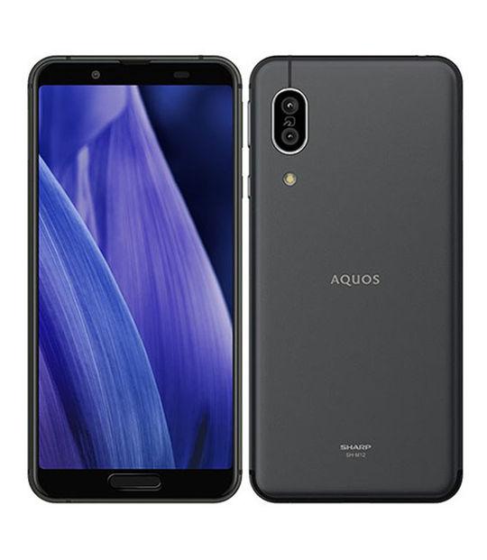 AQUOS sense3 SH-M12(ブラック)