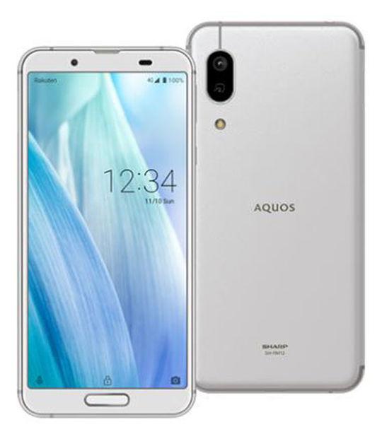 AQUOS sense3 lite SH-RM12 楽天モバイル限定モデル(シルバーホワイト)