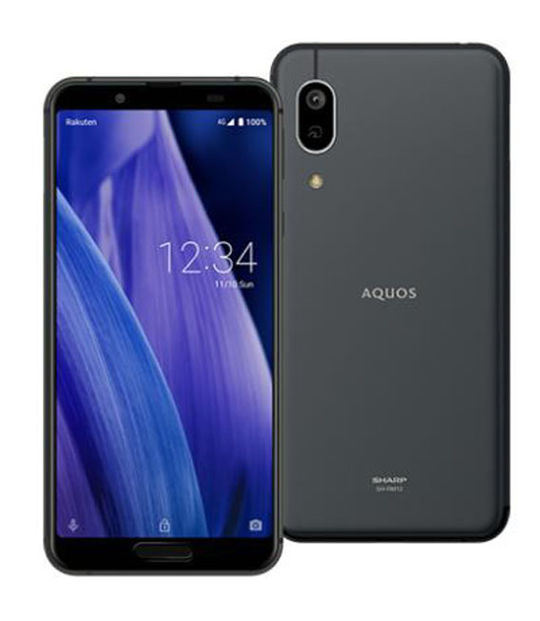 AQUOS sense3 lite SH-RM12 楽天モバイル限定モデル(ライトブラック)