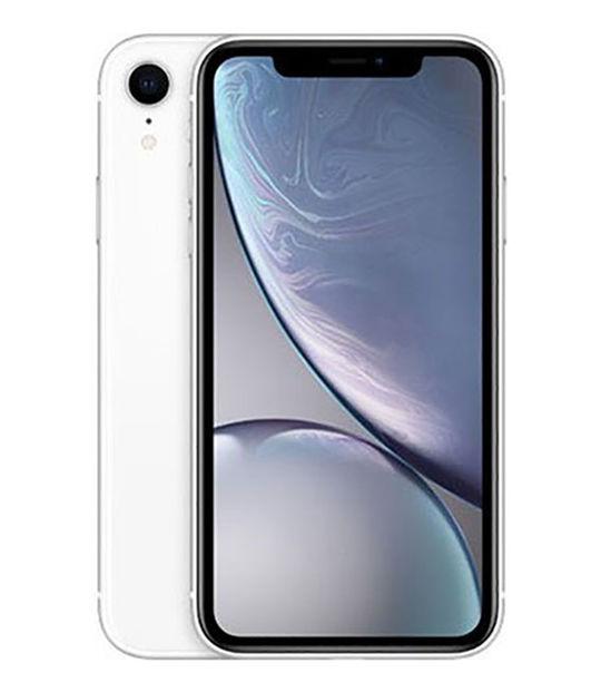 【中古】【安心保証】 SoftBank iPhoneXR[64G] ホワイト