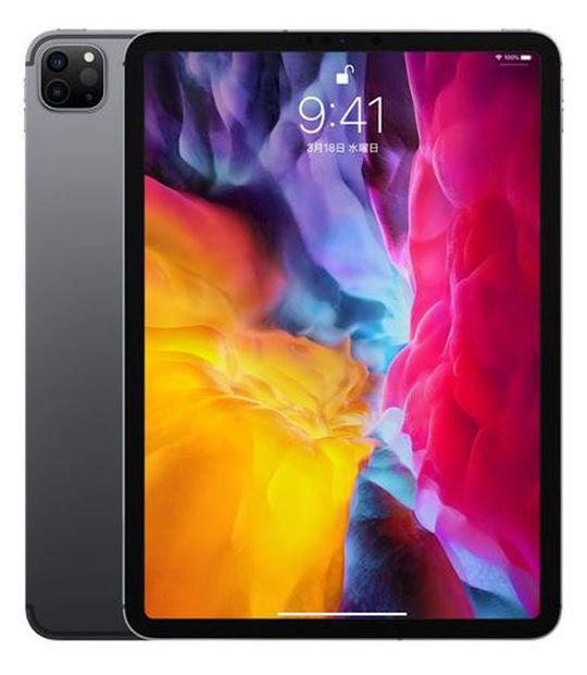 【中古】【安心保証】 iPadPro 4-11[WiFi256G] スペースグレイ
