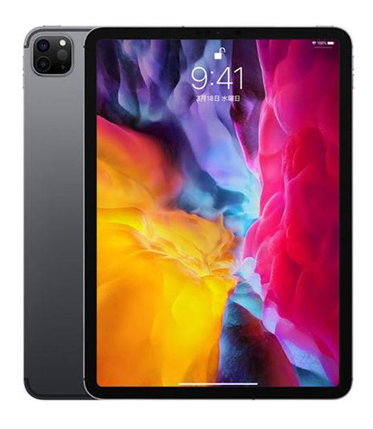 【中古】【安心保証】 SoftBank iPadPro 4-11[セルラー128G] スペースグレイ
