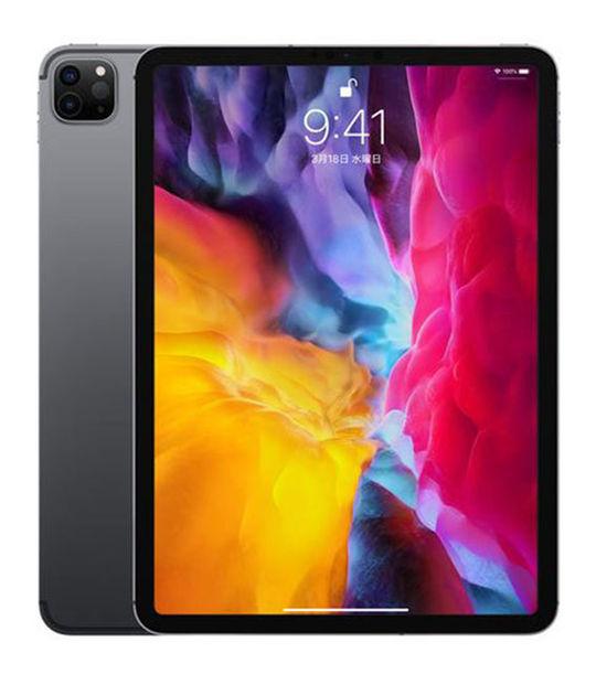 【中古】【安心保証】 docomo iPadPro 4-11[セルラー512G] スペースグレイ