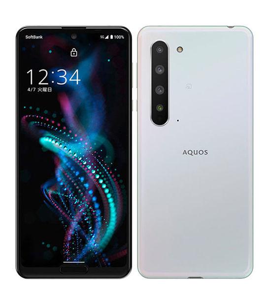 AQUOS R5G(オーロラホワイト)