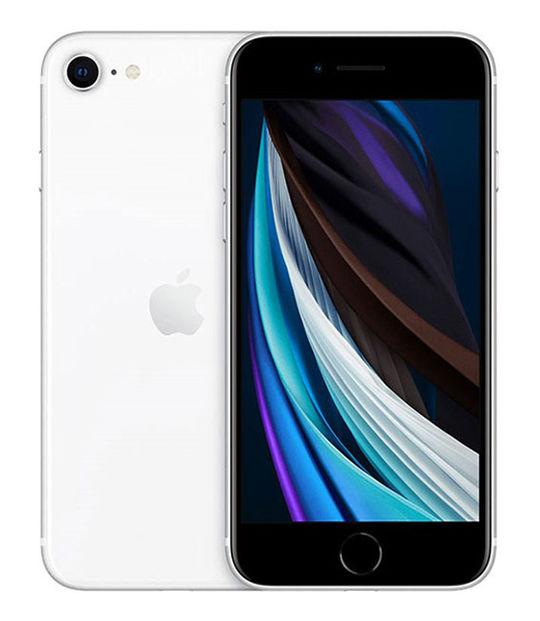 【中古】【安心保証】 SIMフリー iPhoneSE 第2世代[64G] ホワイト