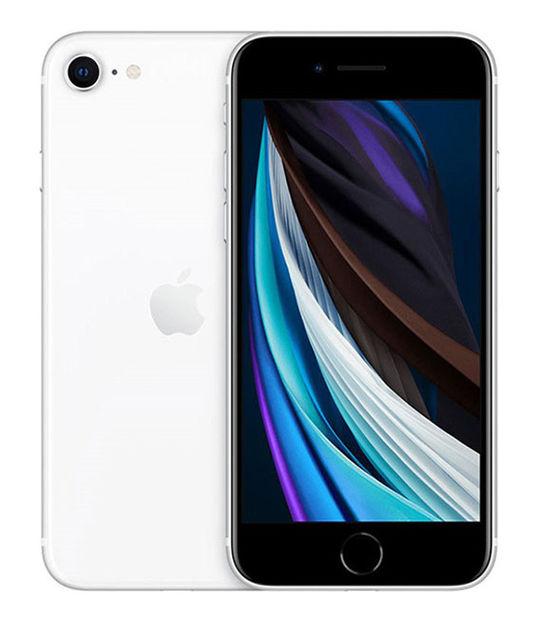 【中古】【安心保証】 SIMフリー iPhoneSE 第2世代[256G] ホワイト