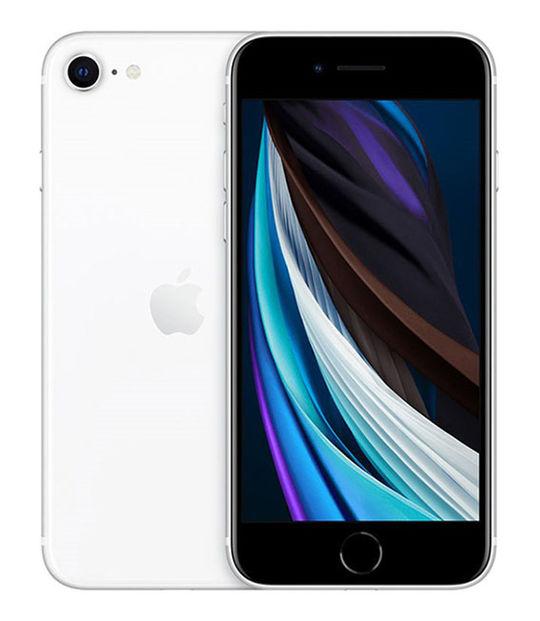 【中古】【安心保証】 docomo iPhoneSE 第2世代[64G] ホワイト SIMロック解除済